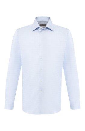 Мужская хлопковая сорочка CANALI голубого цвета, арт. N705/GR01831/S | Фото 1