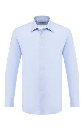 Мужская хлопковая сорочка CANALI голубого цвета, арт. N705/GR01832/S | Фото 1
