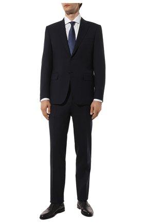 Мужские кожаные оксфорды DOUCAL'S черного цвета, арт. DU1049KAVIUZ065NN00 | Фото 2
