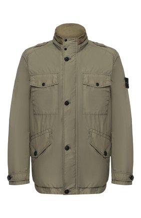 Мужская куртка STONE ISLAND хаки цвета, арт. 721543532 | Фото 1