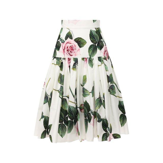 Хлопковая юбка Dolce & Gabbana