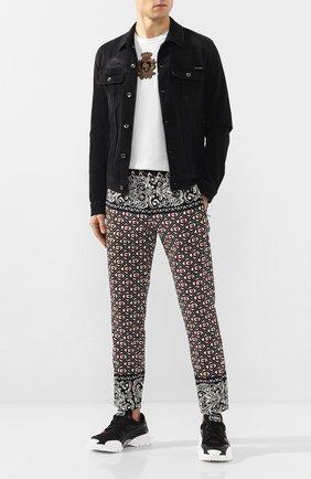 Мужская джинсовая куртка DOLCE & GABBANA черного цвета, арт. G9JC2D/G8BR3 | Фото 2