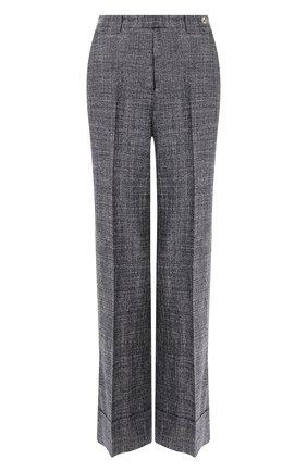 Женские шерстяные брюки KITON серого цвета, арт. D49106K09S06 | Фото 1
