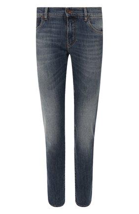 Мужские джинсы DOLCE & GABBANA синего цвета, арт. GY07CZ/G8BD2   Фото 1