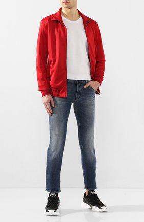 Мужские джинсы DOLCE & GABBANA синего цвета, арт. GY07CZ/G8BD2   Фото 2