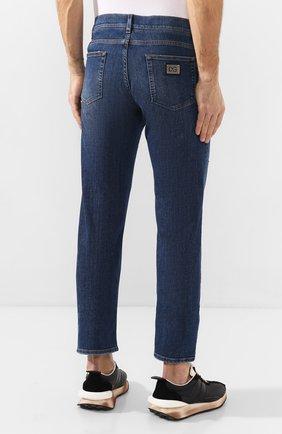Мужские джинсы DOLCE & GABBANA синего цвета, арт. GYQFCD/G8BY6   Фото 4