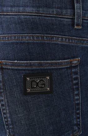 Мужские джинсы DOLCE & GABBANA синего цвета, арт. GYQFCD/G8BY6   Фото 5
