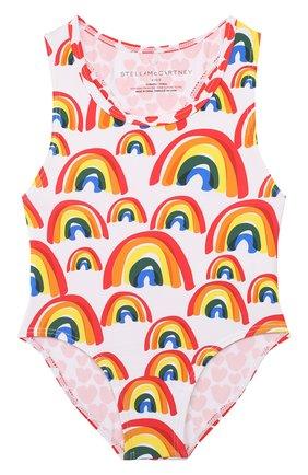 Детского слитный купальник STELLA MCCARTNEY разноцветного цвета, арт. 588516/S0K06 | Фото 1