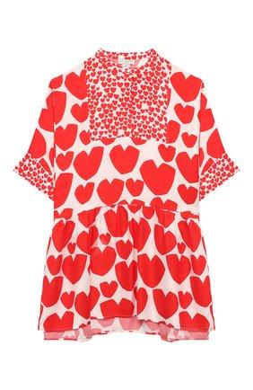 Детское платье STELLA MCCARTNEY красного цвета, арт. 588680/S0K55 | Фото 1