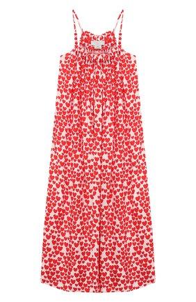 Детское сарафан STELLA MCCARTNEY красного цвета, арт. 588692/S0K54 | Фото 1