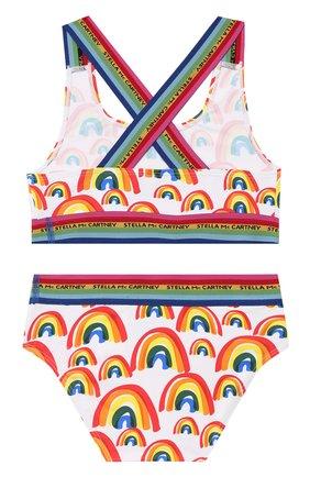 Детского раздельный купальник STELLA MCCARTNEY разноцветного цвета, арт. 589069/S0K06 | Фото 2