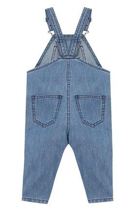 Детский джинсовый комбинезон STELLA MCCARTNEY синего цвета, арт. 589569/S0K95 | Фото 2