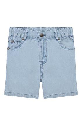 Детские джинсовые шорты STELLA MCCARTNEY голубого цвета, арт. 597992/S0K81 | Фото 1