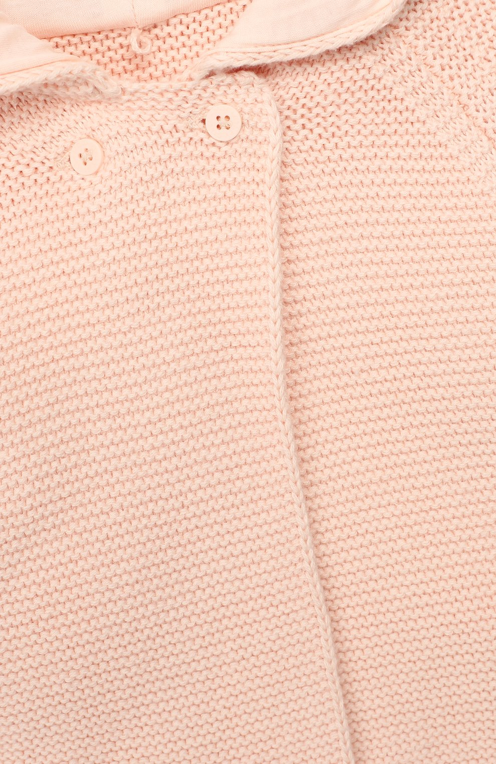 Детский хлопковый кардиган STELLA MCCARTNEY светло-розового цвета, арт. 598046/S0M09   Фото 3