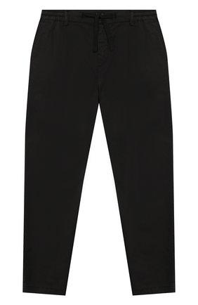 Детские хлопковые брюки DOLCE & GABBANA черного цвета, арт. L43P32/G7VQR/2-6   Фото 1