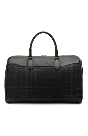 Мужская текстильная сумка CANALI черного цвета, арт. P325160/NC00093 | Фото 1