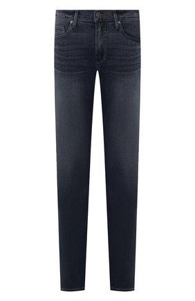 Мужские джинсы PAIGE темно-синего цвета, арт. M657734-7463 | Фото 1