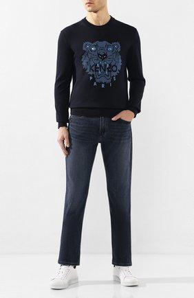 Мужские джинсы PAIGE темно-синего цвета, арт. M657734-7463 | Фото 2