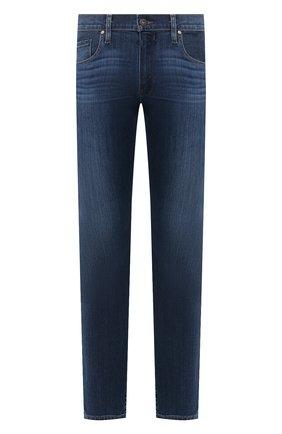 Мужские джинсы PAIGE темно-синего цвета, арт. M655C72-7460 | Фото 1
