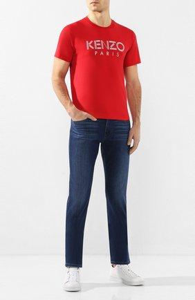 Мужские джинсы PAIGE темно-синего цвета, арт. M655C72-7460 | Фото 2