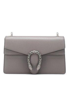 Женская сумка dionysus GUCCI серого цвета, арт. 400249/CA0GN | Фото 1