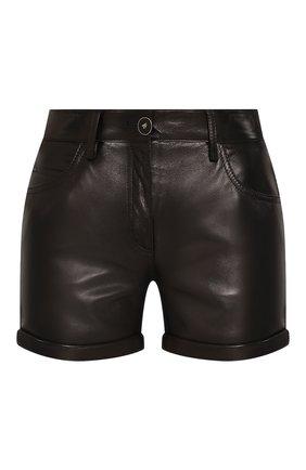 Кожаные шорты | Фото №1