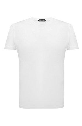 Мужская футболка TOM FORD белого цвета, арт. BU229/TFJ950 | Фото 1