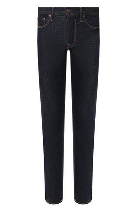 Мужские джинсы TOM FORD темно-синего цвета, арт. BUJ18/TFD002 | Фото 1