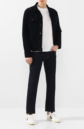 Мужские джинсы TOM FORD темно-синего цвета, арт. BUJ18/TFD002 | Фото 2