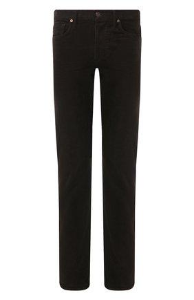 Мужские джинсы TOM FORD коричневого цвета, арт. BUJ19/TFD002 | Фото 1