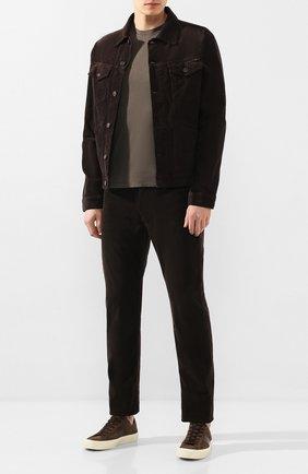 Мужские джинсы TOM FORD коричневого цвета, арт. BUJ19/TFD002 | Фото 2