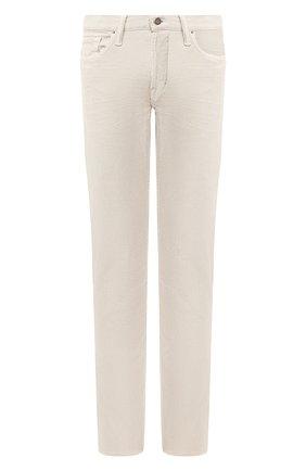 Мужские джинсы TOM FORD бежевого цвета, арт. BUJ19/TFD002 | Фото 1