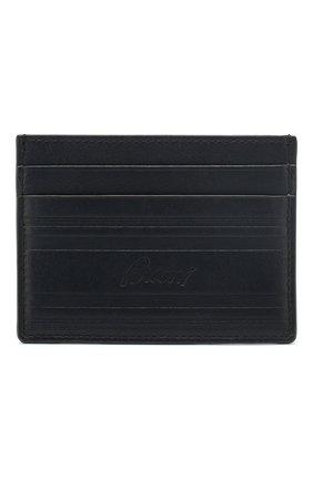 Мужской кожаный футляр для кредитных карт BRIONI темно-синего цвета, арт. 0HSU0L/P9721 | Фото 1