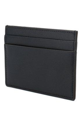 Мужской кожаный футляр для кредитных карт BRIONI темно-синего цвета, арт. 0HSU0L/P9721 | Фото 2