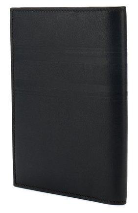 Мужская кожаная обложка для паспорта BRIONI темно-синего цвета, арт. 0HSX0L/P9721 | Фото 2