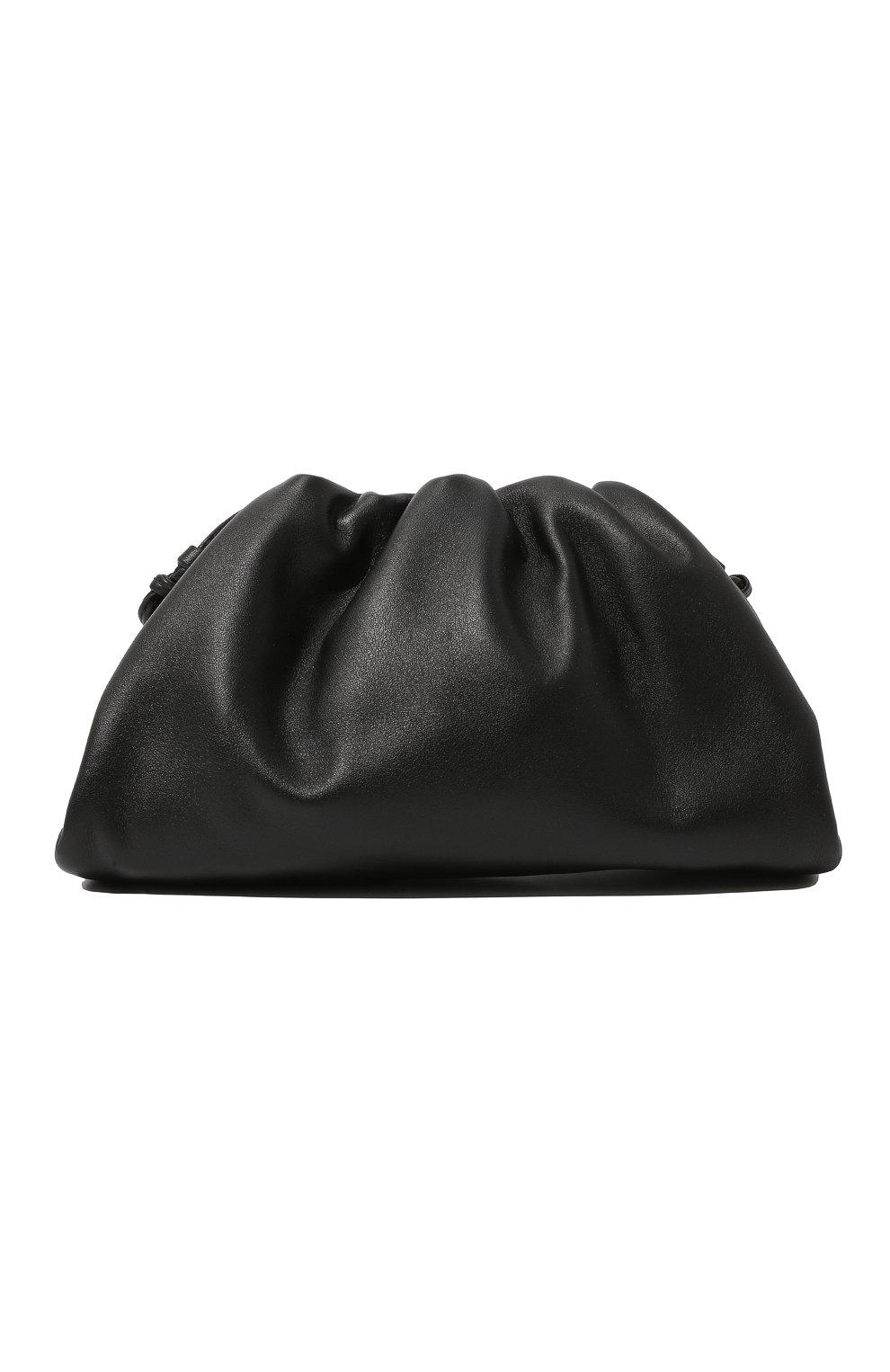 Женский клатч pouch 20 BOTTEGA VENETA черного цвета, арт. 585852/VCP40 | Фото 1