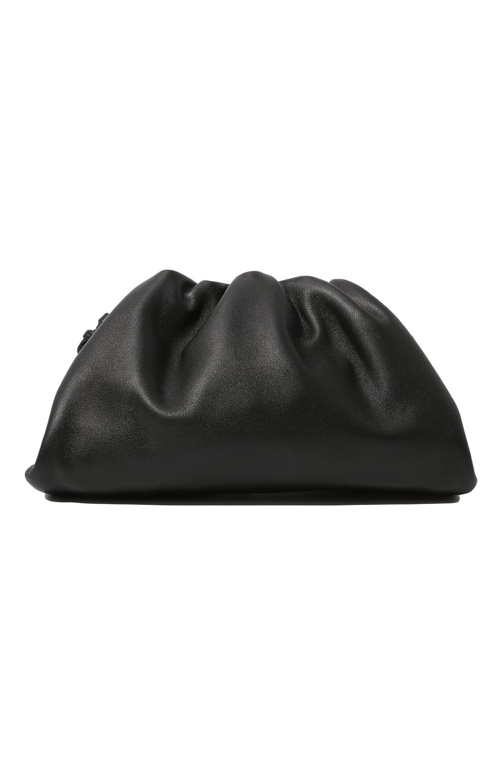 Женский клатч pouch 20 BOTTEGA VENETA черного цвета, арт. 585852/VCP40 | Фото 6
