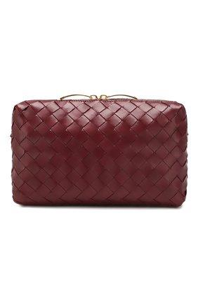 Женская сумка BOTTEGA VENETA бордового цвета, арт. 597329/VCPP1 | Фото 1