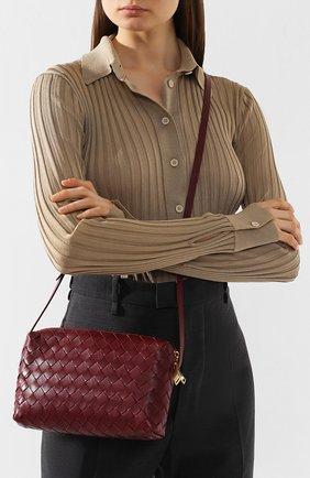 Женская сумка BOTTEGA VENETA бордового цвета, арт. 597329/VCPP1 | Фото 2