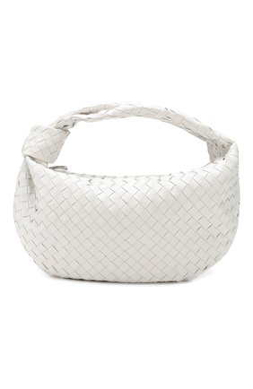 Женская сумка bv jodie small BOTTEGA VENETA белого цвета, арт. 600261/VCPP0 | Фото 1