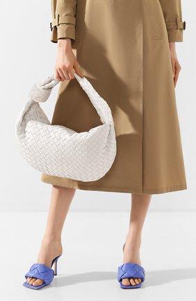Женская сумка bv jodie small BOTTEGA VENETA белого цвета, арт. 600261/VCPP0 | Фото 2