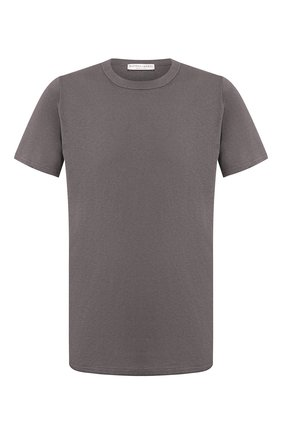 Мужская хлопковая футболка BOTTEGA VENETA темно-серого цвета, арт. 600852/VF2A0 | Фото 1