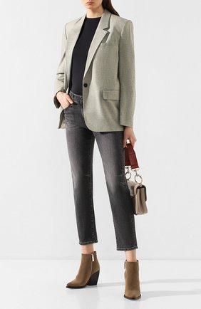Женские джинсы AG серого цвета, арт. STS1575/09YPFN | Фото 2