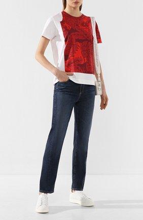 Женские джинсы AG синего цвета, арт. LGN1676TS/P0RT | Фото 2