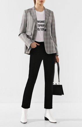 Женские джинсы AG черного цвета, арт. ENV1782/SBA | Фото 2