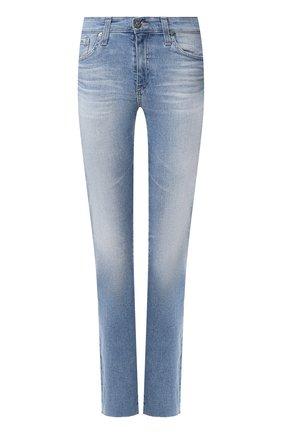 Женские джинсы AG голубого цвета, арт. EMP1875RH/22YRDT | Фото 1