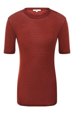 Женская шерстяной топ VINCE красного цвета, арт. V624583443 | Фото 1