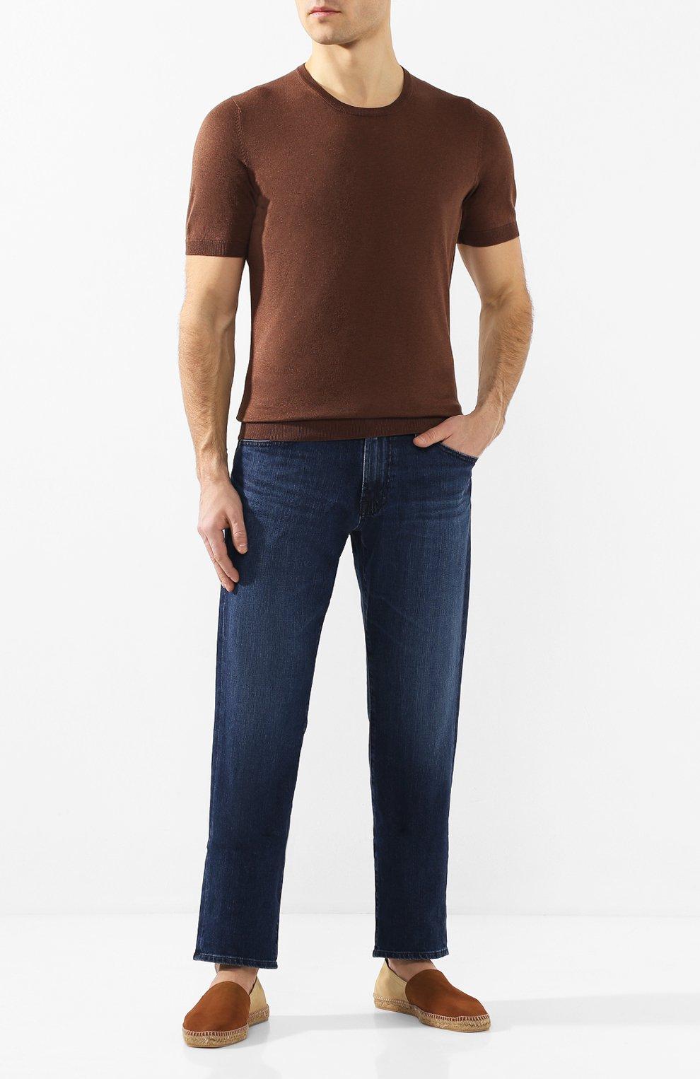 Мужские замшевые эспадрильи CASTANER коричневого цвета, арт. 021833 | Фото 2