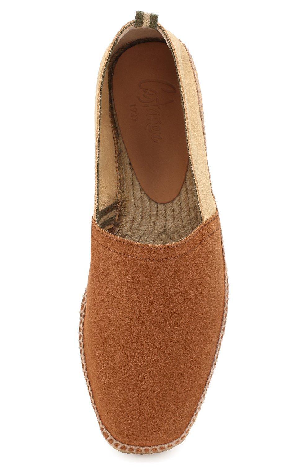 Мужские замшевые эспадрильи CASTANER коричневого цвета, арт. 021833 | Фото 5