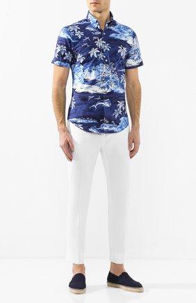 Мужские текстильные эспадрильи CASTANER темно-синего цвета, арт. 021818 | Фото 2